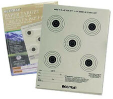 "Marksman Beeman 25 PACK 7"" x 9"" Official 25ft Airgun Paper Target 2099 NEW"