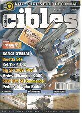 CIBLES N°418 PILOTES ET TIR DE COMBAT / BERETTA 84F / KEL-TEC SU-16 / SIG SP PRO