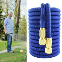 17-100 Feet Outdoor Garden Watering Hose Pipe Expandable Aluminum Connectors