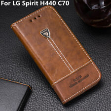 Luxury Case Cover 4.7' For LG Spirit H440 C70 Magnetic Flip Leather Wallet Phone