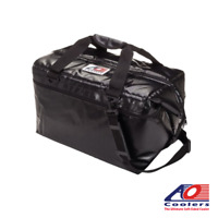 NEW AO Coolers 48 Can VINYL Cooler Bag (Blue, Black, Silver) - Esky, Ice Bag,...