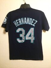 MLB. Seattle Mariners Youth Felix Hernandez #34 Jersey Shirt. Size Youth S.