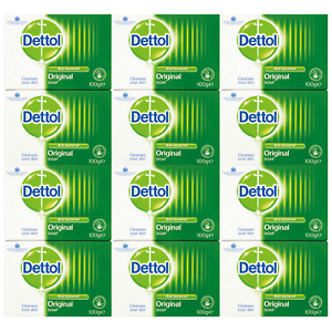 Dettol Antibacterial Soap 100g Twin Packs - 2, 4, 14, 12 [Choose Your Amount]