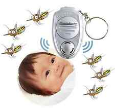 New Key chain Key Clip Electronic Ultrasonic Repeller Pest Mosquito Insect uk