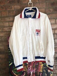 Men's Vintage 80s Champion Team USA Olympic Coca Cola Windbreaker Jacket Sz L