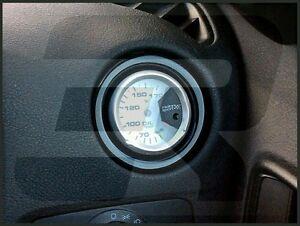 Ford Fiesta Mk6 7 Air Vent Gauge Holder Pod adapter ABS plastic Gloss Black ST
