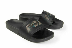 Fox Carp Fishing Footwear Range - Black & Camo Logo Sliders - All Sizes