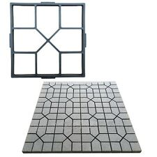 Garden Pathmate Stone Mold Paving Concrete DIY Maker Stepping Pavement Paver