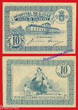 PORTUGAL ARCOS DE VALDEVEZ HOSPITAL SAN JOSE 10 centavos 1920  SC-   /  AU