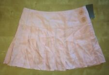 NWT Taxi Brand White Pink Pleated Skirt SZ S