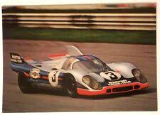 Cartolina Pubblicitaria Martini - Porsche - Martini Racing Camp. Mondiale Marche