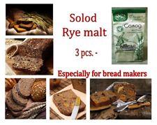 3 pcs x 300gram = 0.9 kg ( 900gram) Solod Rye malt. Especially for bread makers!