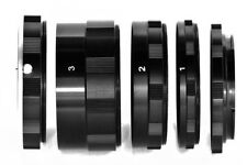 SET TUBI MACRO KIT TUBO EXTENSION COMPATIBILE CON SONY NEX-5R NEX-5N NEX-7 NEX-6