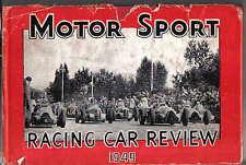 Racing Car Review 1949 by Jenkinson Alfa Romeo Alta Cooper ERA Maserati Talbot +