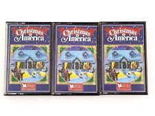 Set Of 3 Christmas In America Music Cassette Tapes Reader's Digest 1988