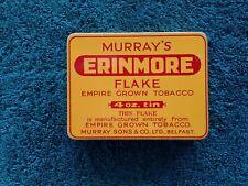 Murray's erinmore flake 4oz tobacco tin