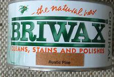 BRIWAX ORIGINAL Wax Polish 400g Wood Furniture Cleaner Restorer RUSTIC PINE 400