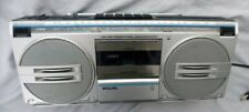 Poste Radio cassette PHILIPS D8132 Vintage An 80's