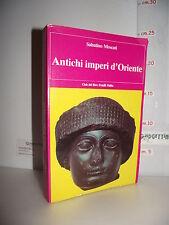 LIBRO Sabatino Moscati ANTICHI IMPERI D'ORIENTE 2^ed.1987 Culture evo antico☺