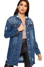 Manteaux et vestes bleu coton mélangé pour femme taille 38