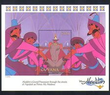 Guyana 1993 Disney/Aladdin/Cartoon/Animation/Cinema/Film/Elephant 1v m/s d00216
