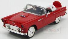 Ford Usa Thunderbird Hard Top 1956 Red White MotorMax 1:24 MTM73312R