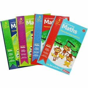 New Leap Ahead Educational Books Children Maths English 3 to 11 Multibuy 25% Off