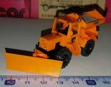 Voitures, camions et fourgons miniatures jaunes Mercedes 1:87