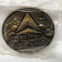 Delta Air Cargo Belt Buckle Made In USA Airline Airplane Aviation Flight