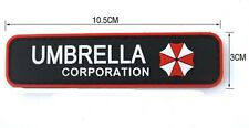 NEW  Resident Evil Umberlla LOGO PVC 3D Rubber   Patch SJK+  177