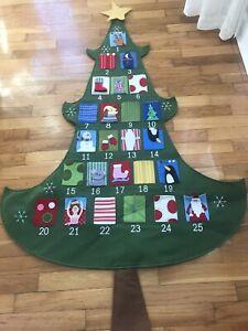 Pottery Barn Kids Telluride Christmas Tree Advent calendar countdown