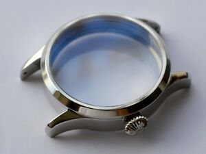 German made watch case for hamilton 917 921 923 945 domed saphirre anti reflex