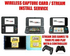 - ̗̀ NEW  ̖́- Nintendo 3DS/2DS XL Wireless Capture Card / Stream Install Service