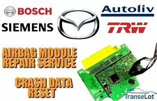 MAZDA AIRBAG ECU SRS ECU AIRBAG MODULE CRASH DATA RESET REPAIR SERVICE