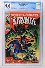 Doctor Strange #183 - Marvel 1969 CGC 9.0 Letter from J.M. DeMatteis. Last Issue