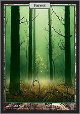 MTG 1x FOREST - Unhinged *FULL ART NM*