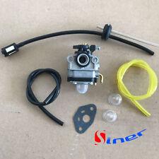 Carburetor & Fuel Line Kit for Craftsman 4 cycle mini tiller 316.292711 carb.