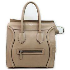 CELINE Tote Bag  Beiges Leather 1405052