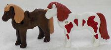 2 x SÜSSES PONY PLAYMOBIL zu Reiterhof Bauernhof Indianer Tiere Kinder Pferd 541