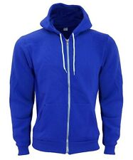 American Apparel Flex Fleece Zip Up Hoodie Lapis Cobalt Royal Blue F497 X-small