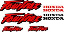 Honda Fourtrax Gas Tank  Decal set stickers moto hrc Set of 8