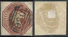 1847-54 GREAT BRITAIN USED REGINA VITTORIA SG 57 10d
