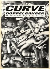 14/3/92Pgn32 Advert: Curve Debut Album doppelganger Anxious Records 15x11""