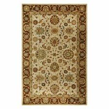 John Lewis Living Treasures 100 Wool Li05 Runner Rug Beige 168 X 107 Cm