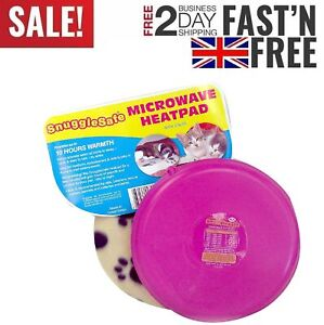 Small Microwave Wireless Heatpad With Fleece Cover For Pet Dog Cat Rabbit Animal
