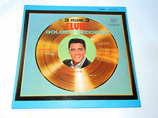 ELVIS PRESLEY - ELVIS' GOLDEN RECORDS 3 volume 3 Vinyl LP record RCA