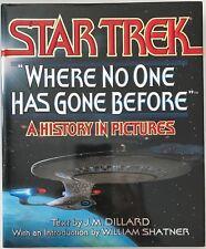Star Trek Where No One Has Gone Before J. M. Dillard 1994 Hardcover History