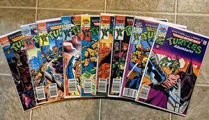 ARCHIE TMNT Teenage Mutant Ninja Turtles Adventures 11 12 13 Newsstand lot