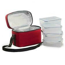 New listing Food Storage Container,X Chef Lock and Seal Freezer Storage Container,Set of 4