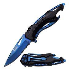 M-Tech MT-A705BL Klappmesser - Blau/Schwarz